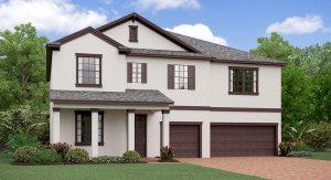 The Wyoming Model Tour Lennar Homes Belmont Ruskin Florida