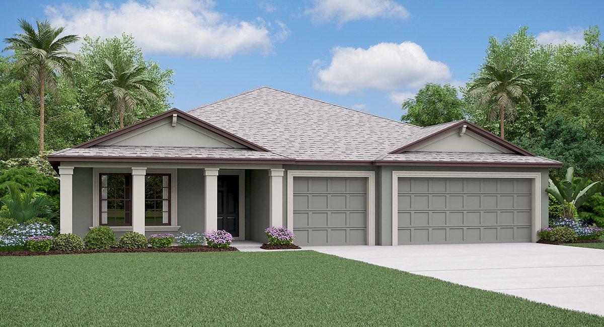 The Phoenix Model Tour Lennar Homes Riverview Florida