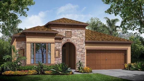 The Brookland Model Tour Lennar Homes Tampa Florida