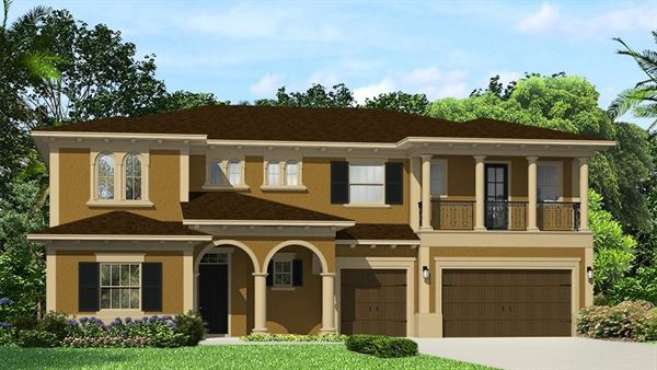 The Barrington Model Tour Lennar Homes Tampa Florida