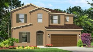 The Somerset II Model Tour Lennar Homes Tampa Florida