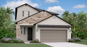 The Massachusetts Model Tour Bexley Manors Lennar Homes Land O Lakes Florida