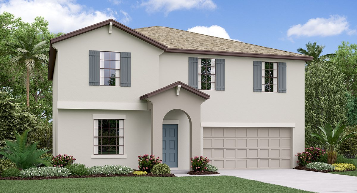 The Providence Model Tour Hawthorne Meadows Lennar Homes Gibsonton Florida