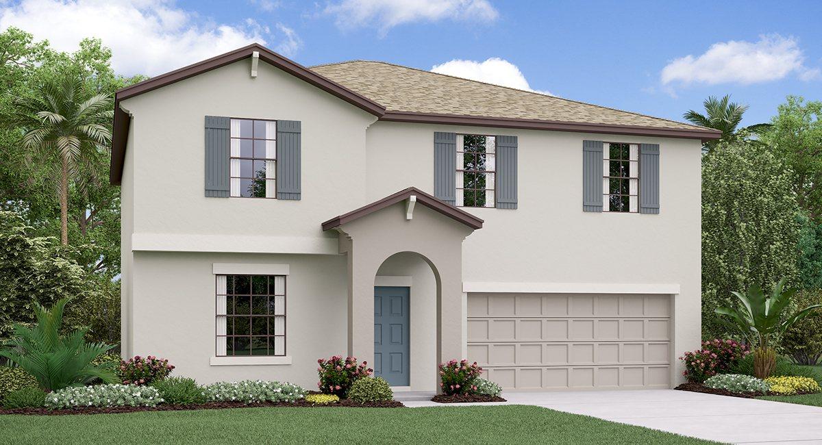 The Providence Model Tour Hawthorne Meadows Lennar Homes Gibsonton Florida