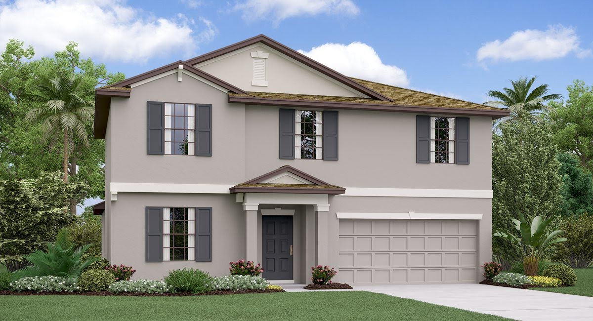 The Raleigh Model Tour Hawthorne Meadows Lennar Homes Gibsonton Florida