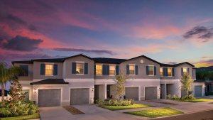 The Hampton Model Tour Willow Square Lennar Homes Lutz Florida