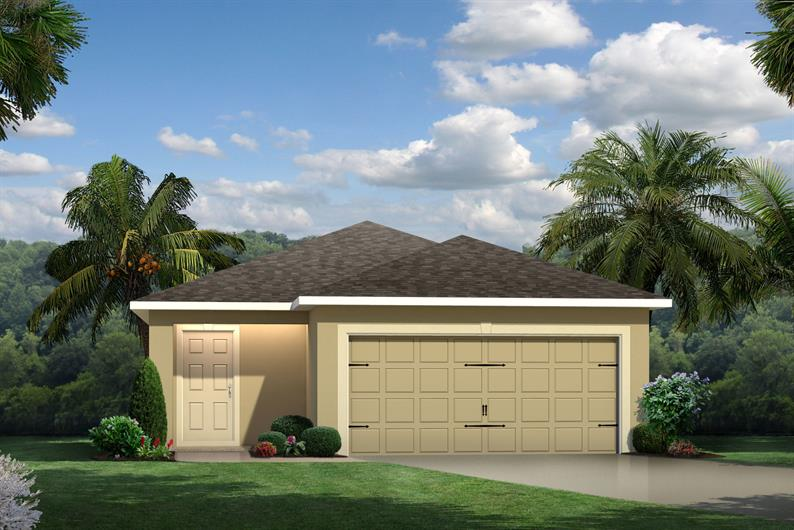 Zephyr Place New Home Community Zephyrhills Florida