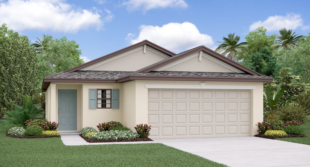 The Annapolis Model Tour Ayersworth Glen Lennar Homes Wimauma Florida