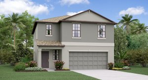 The Atlanta Model Tour Ayersworth Glen Lennar Homes Wimauma Florida