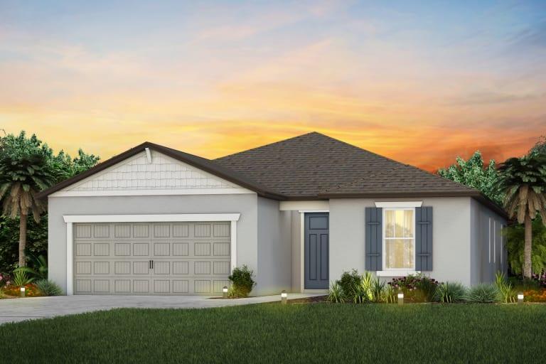The  Mystique Model Tour Hammock Crest Pulte Homes Riverview Florida