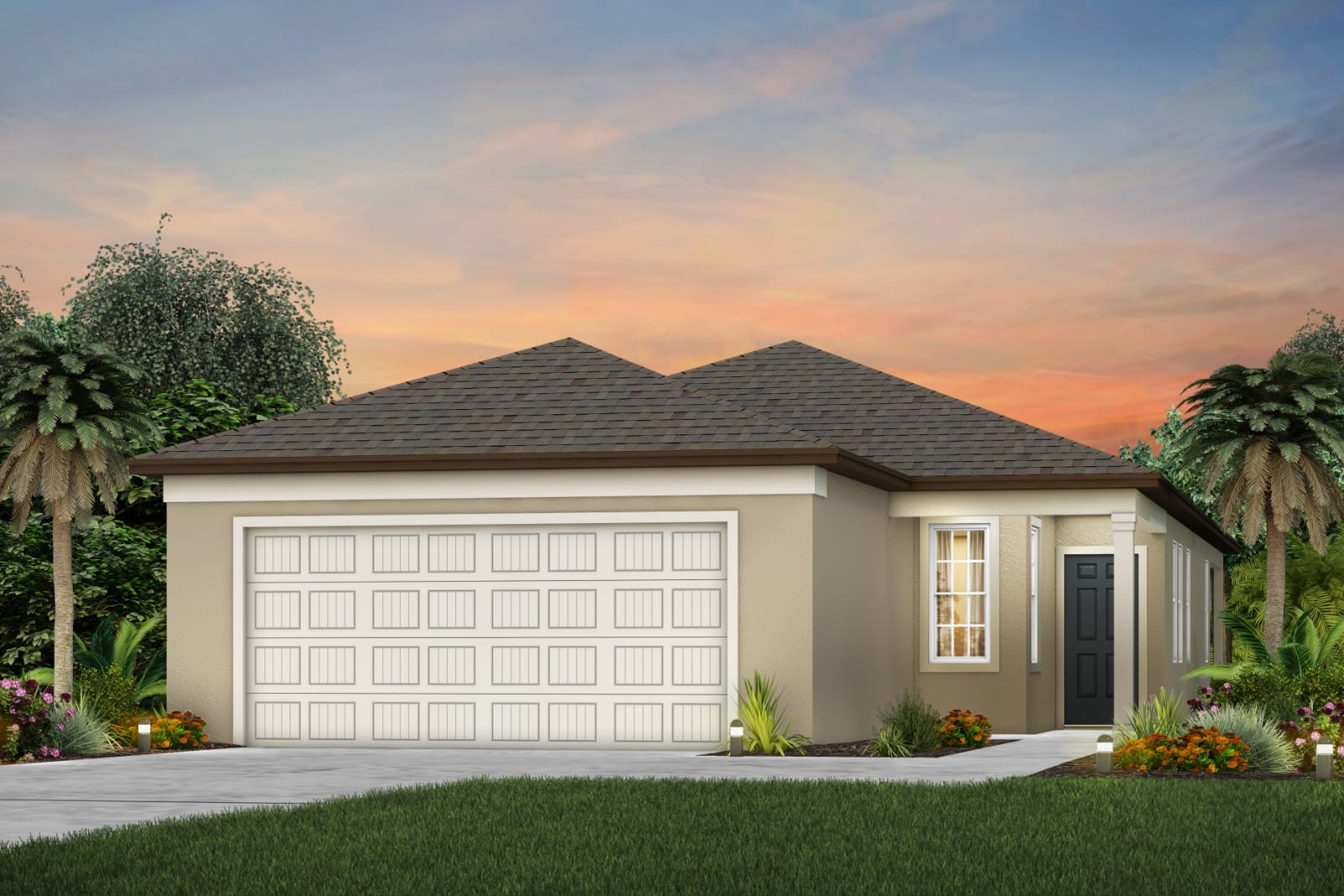 The Daniel  Model Tour North River Ranch Centex Homes Parrish Florida