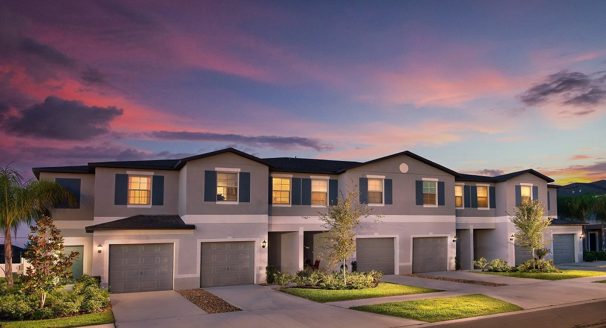Townes At Summerfield Creek New Town Home Community Riverview Florida