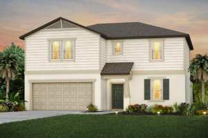 The Wakefield Model Tour North River Ranch Centex Homes Parrish Florida