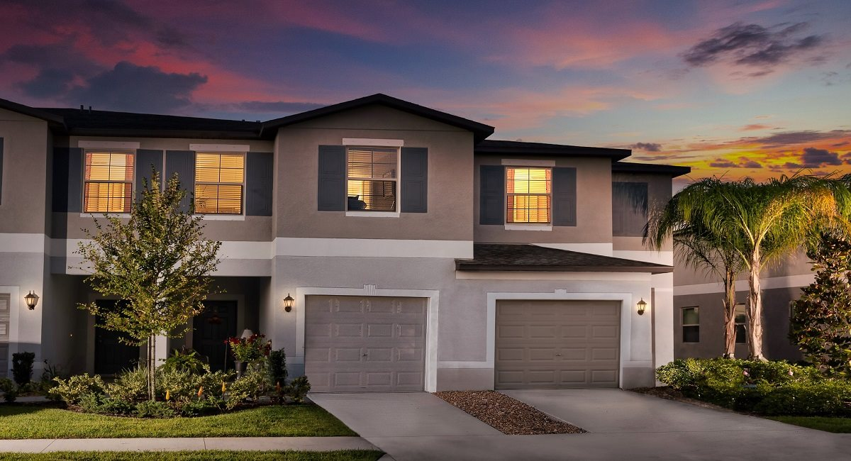 The Windsor Model Tour Townes At Summerfield Creek Lennar Homes Riverview Florida