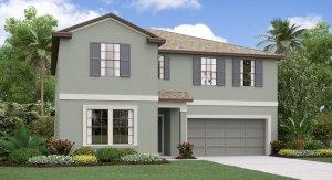 The Trenton Model Tour South Creek Lennar Homes Riverview Florida