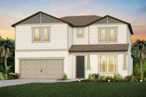The Whitestone  Model Tour Hammock Crest Pulte Homes Riverview Florida