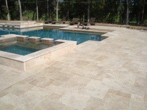 IVORY French Pattern Tumbled Paver - Tampa Stone Outlet