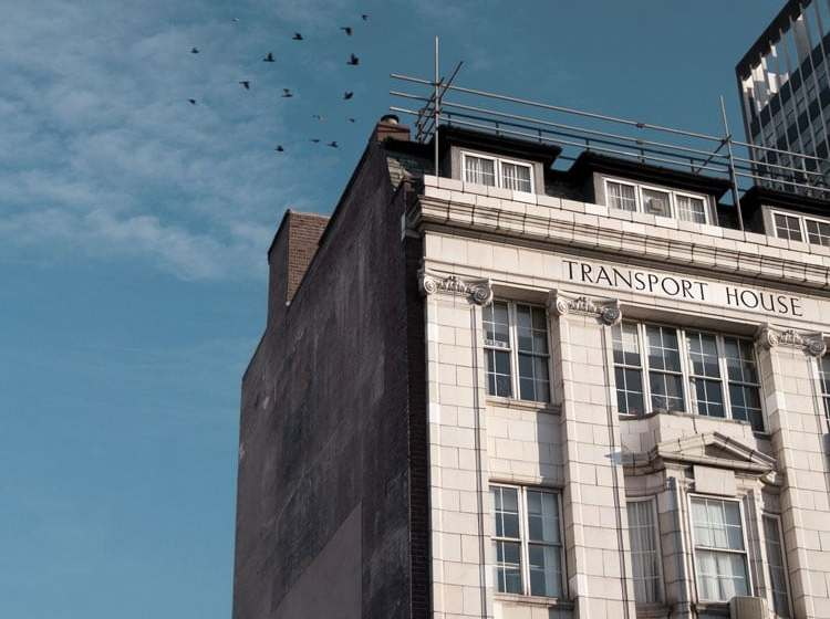 Broad Street Photograph for Barclays