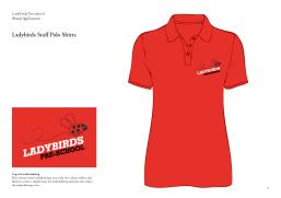Ladybirds Preschool Brand Identity