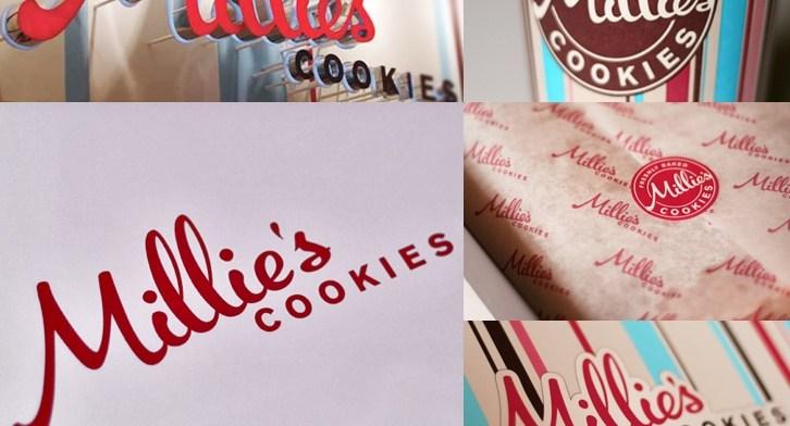 Millie's Cookies Brand Identity