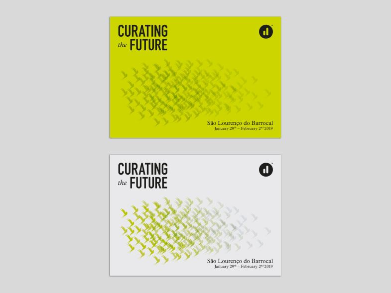 Curating the Future Postcards