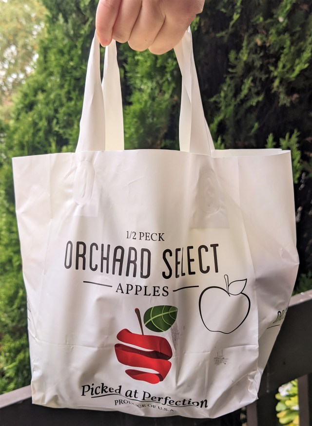 1/2 peck of apples from Showalter's Orchard & Greenhouse in Virginia!
