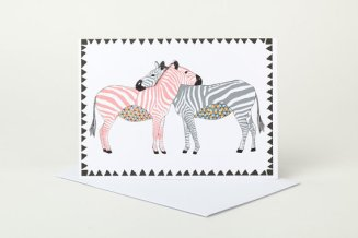 'Zebra Love' by Sophie Parker
