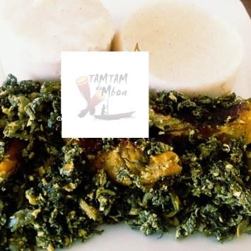 05 secrets pour réussir un plat de Ndjapche accompagné du Couscous maïs style Bamoun
