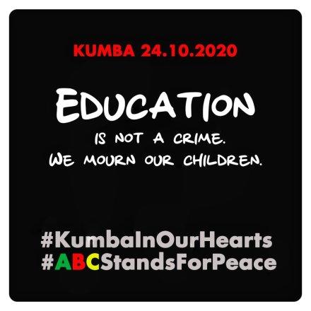 Debout pour la paix, les blogueurs du Cameroun  mobilisés pour rendre hommage aux victimes du massacre de « KUMBA »