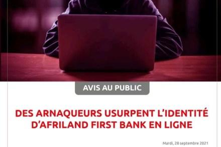 Non, Afriland First Bank ne célèbre pas son 40e anniversaire, donc pas de jeu en ligne