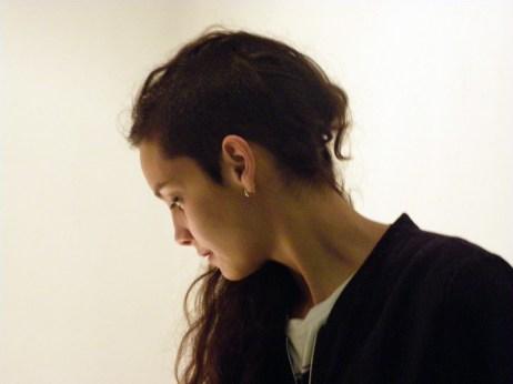 Laura Salguero en el CLA. Foto: E. Otero.