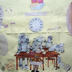 """José Luis Viñas. """"Clase muerta"""". Comunidad Fantasma, 2004 – 2016. Fotografía: Cortesía del artista"""