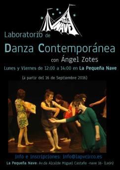 Taller de Danza Contemporánea.