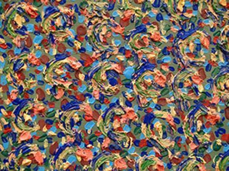 Detalle de la obra de Lolo Zapico.