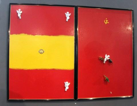 Cuadro de José de León que sirve de imagen a la exposición. Foto: Juan Luis García.