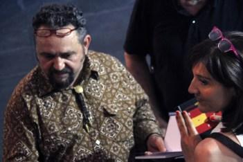 José de León, durante la inauguración. Foto: Juan Luis García.