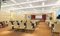 Với những phòng lớn như phòng họp báo, tấm tiêu âm cần đặt ở khắp nơi