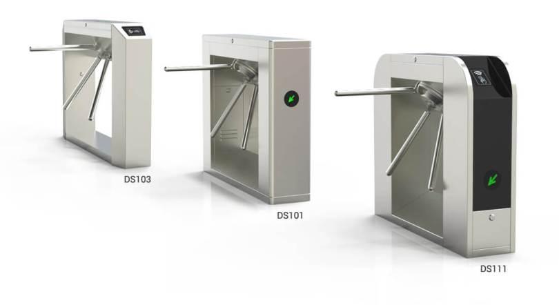 Cung cấp cổng Tripod turnstile cho dự án