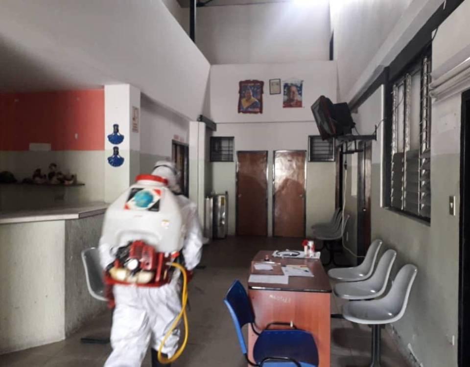 Gobierno regional ejecuta jornadas de desinfección y fumigación en todo el estado Mérida