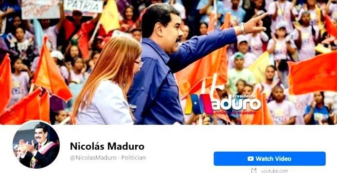 Facebook bloqueó por 30 días la cuenta de Nicolás Maduro tras sus reiteradas violaciones a la política sobre desinformación relacionada al covid-19, informó este sábado la empresa.
