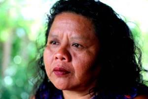 Lisa Henrito. La lideresa del pueblo pemón Lisa Henrito. Foto: Lorena Meléndez