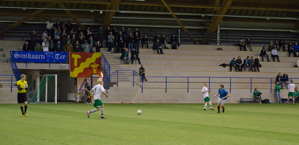 Mika Kytöviita pelasi kärkimiehenä