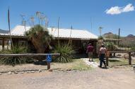 Checking in at Terlingua Ranch Lodge. (Credit: Glen Vigus.)