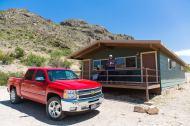 Our cabin. (Credit: Glen Vigus.)