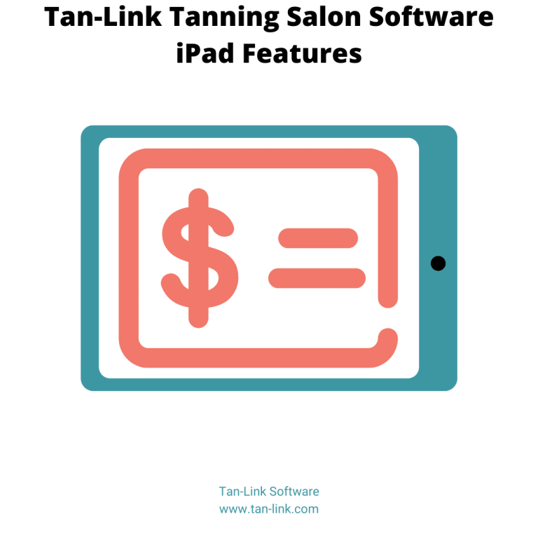 Tanning Software iPad Features