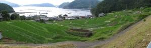 「半農半漁の村 」 撮影者:山村和哉 撮影地:福井県高浜町日引 撮影日:2005年6月12日