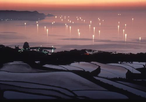 東後畑(ひがしうしろばた)棚田