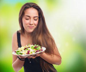 alimentação saudável, cabelos saudáveis