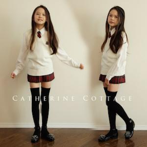 小学校の卒業式の女の子の服装 4