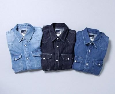 デニムシャツの色の種類やインナー、パンツなどのあわせ方(メンズ編) をご紹介!